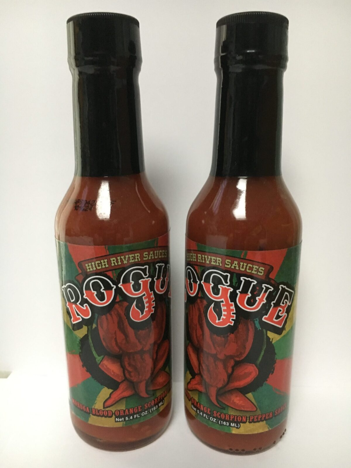 Rogue Moruga Blood Orange Scorpion Pepper Sauce