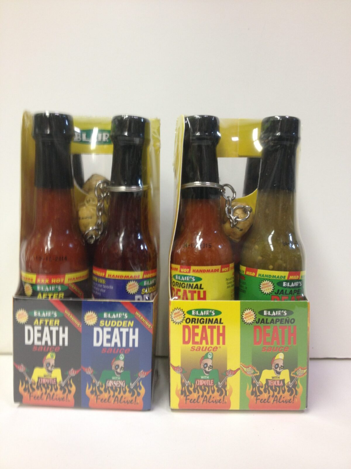Blair's Death Sauce Gift Set 4 Pack minis