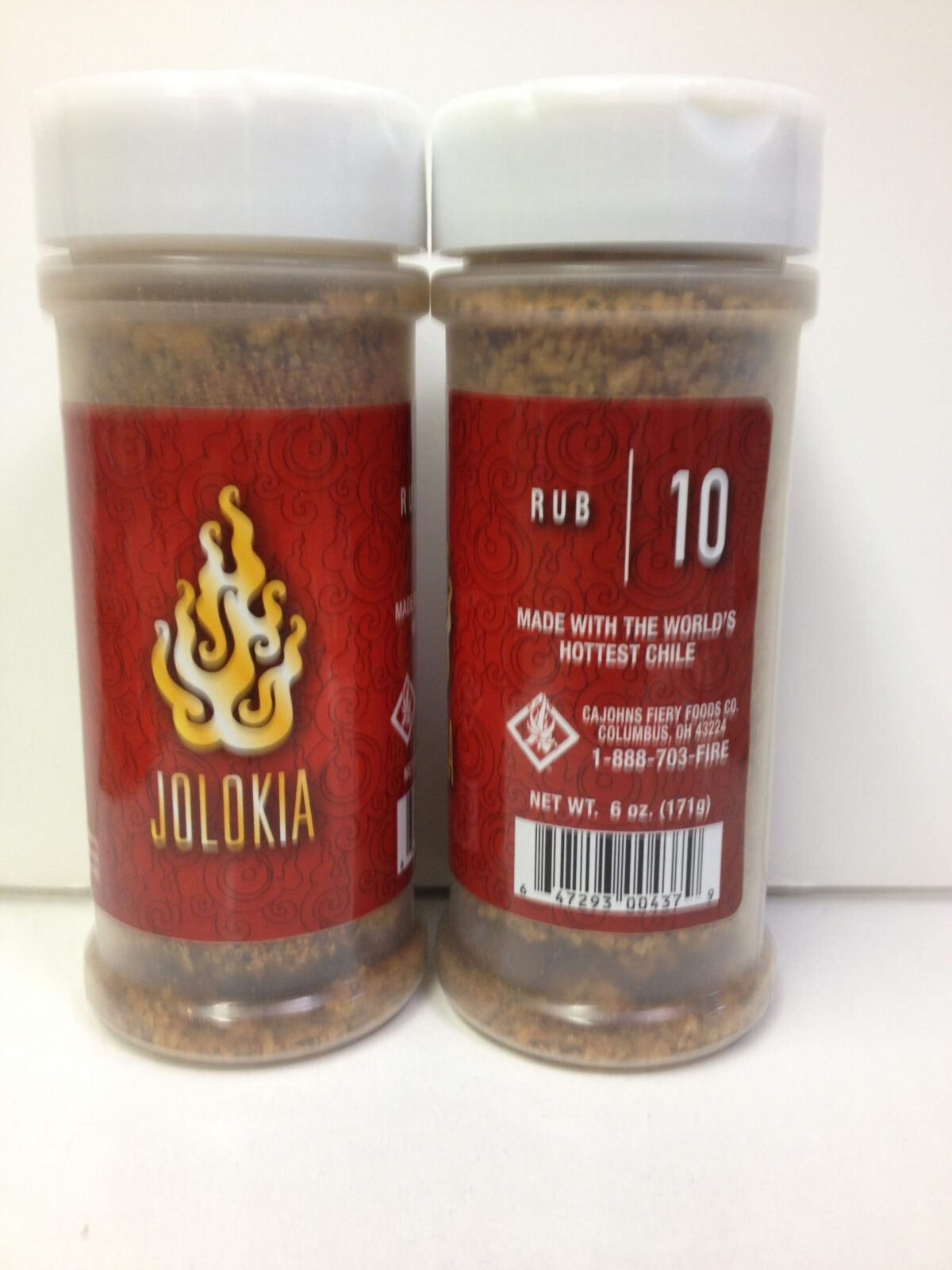 Ghost Pepper Rub (Jolokia) from Cajohn