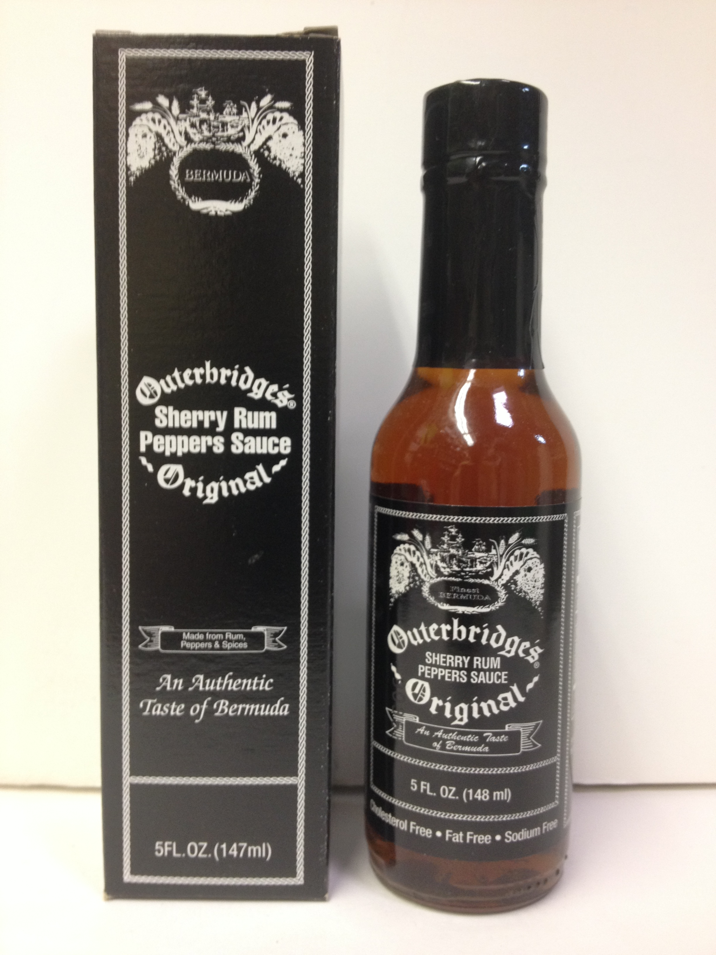 Outerbridge S Original Sherry Rum Pepper Blk